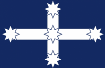 EUREKA (AUSTRALIAN) - HAND WAVING FLAG (MEDIUM)